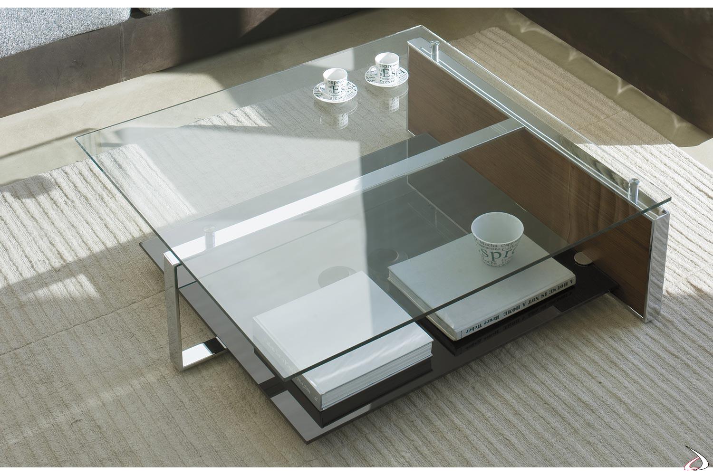 Tavolino Soggiorno Design.Tavolino Fan