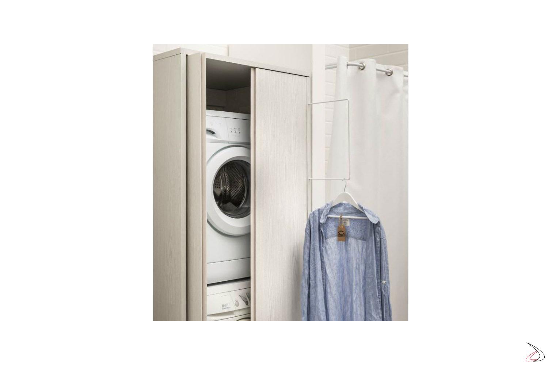 Mobile Bagno E Lavatrice armadio icaro