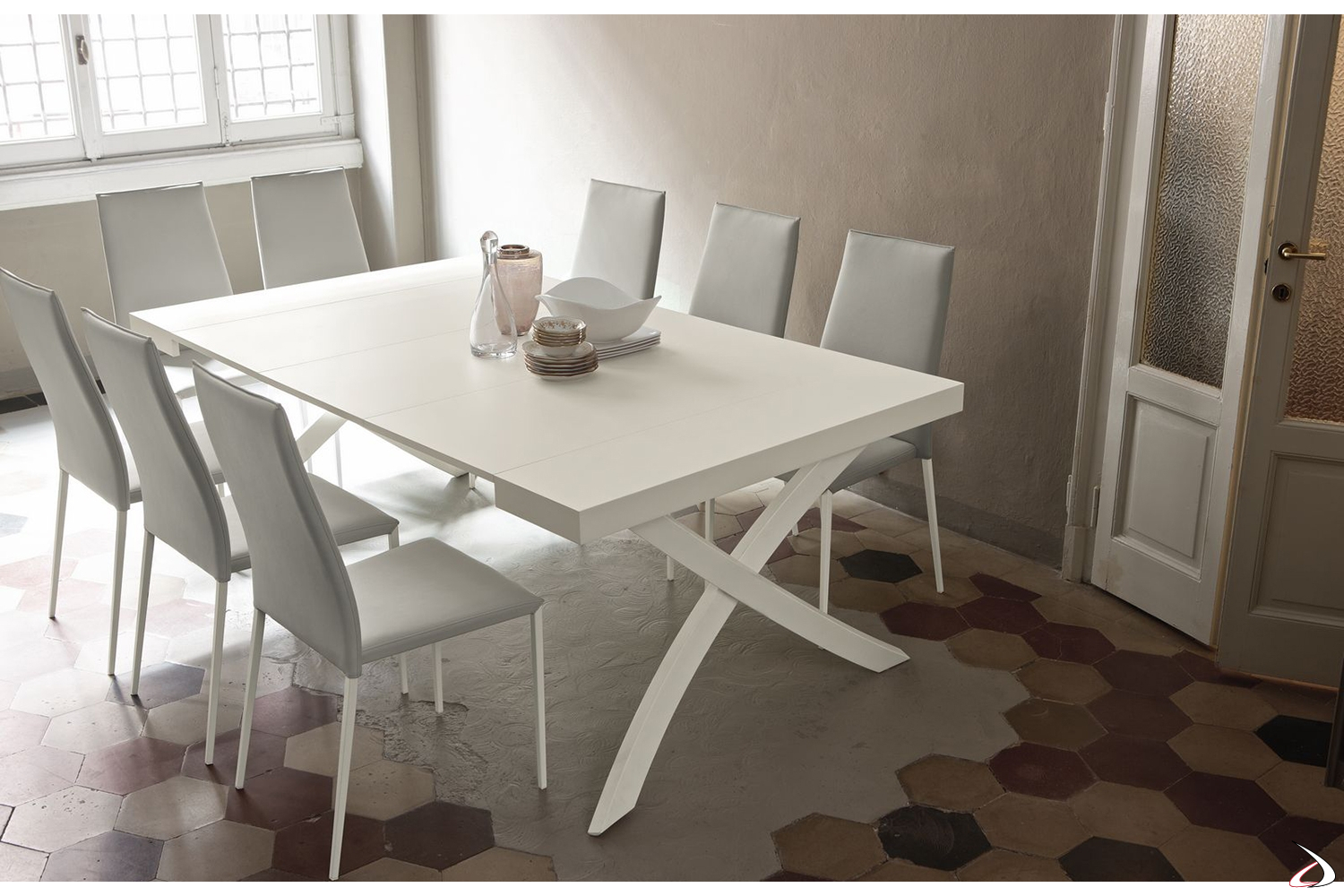 Tavoli Da Pranzo A Consolle.Extendable Console With Extensions Highly Customizable