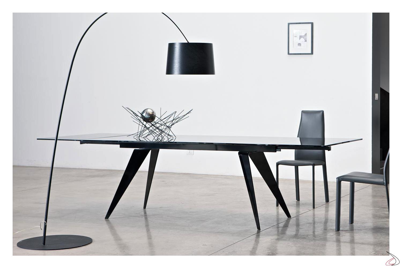 Tavolo Vetro Trasparente Allungabile.Ramos Extendable Design Table By Bontempi Toparredi Arredo