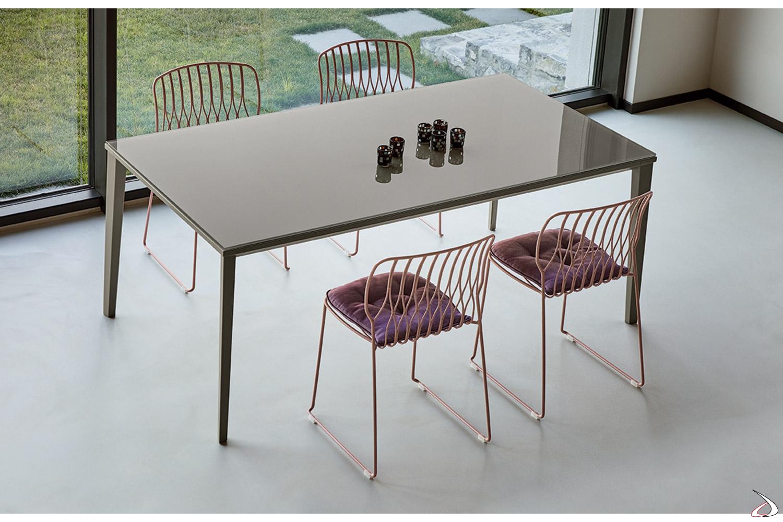 Tavolo Cucina Allungabile Vetro.Echo Minimalist Table Toparredi Arredo Design Online