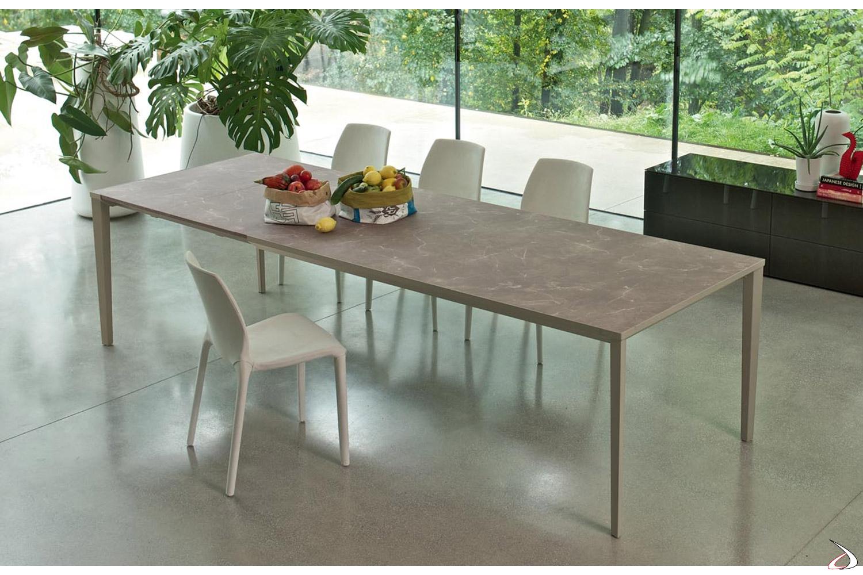 Echo In Ausziehbarer Tisch Mit Moderner Struktur Toparredi