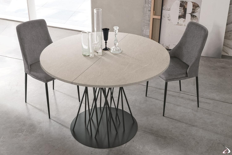 Tavolo rotondo da soggiorno di design briza | TopArredi