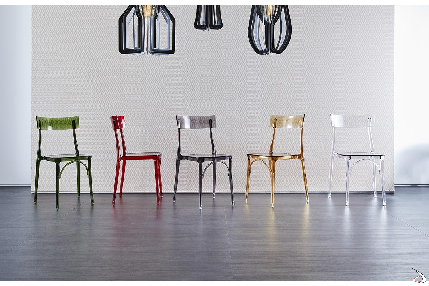 Sedie Policarbonato Trasparente Colorate.Milano2015 Chair For Kitchens And Living Rooms Toparredi