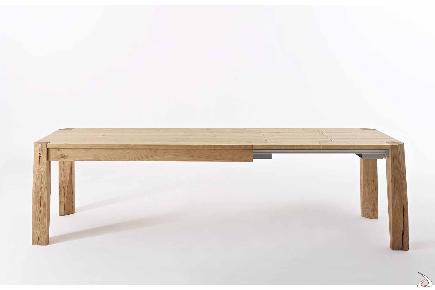 Tavolo Allungabile Legno 4 Metri.Extensible Slash Table Made Of Knotted Oak Toparredi Arredo