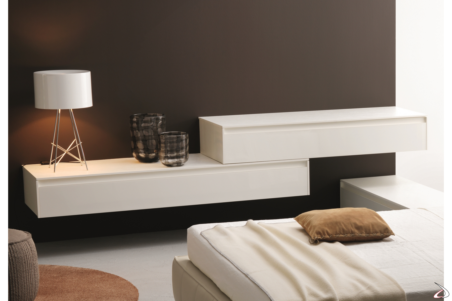 Modern chest of drawers for the bedroom