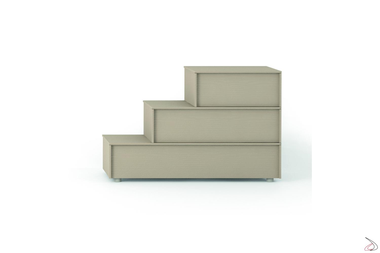 Comodini moderni componibili in legno
