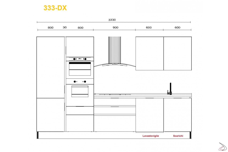 Misure Standard Piano Cottura Cucina miss chef kitchen