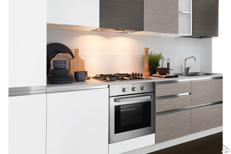 Cucina moderna componibile lineare