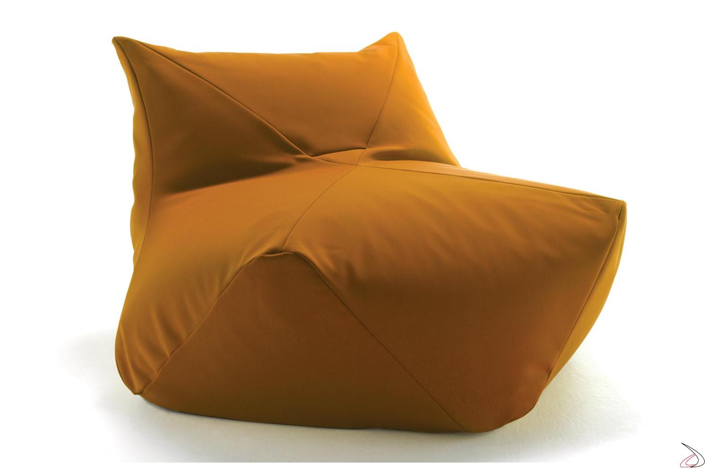 Pouf moderno colorata a sacco