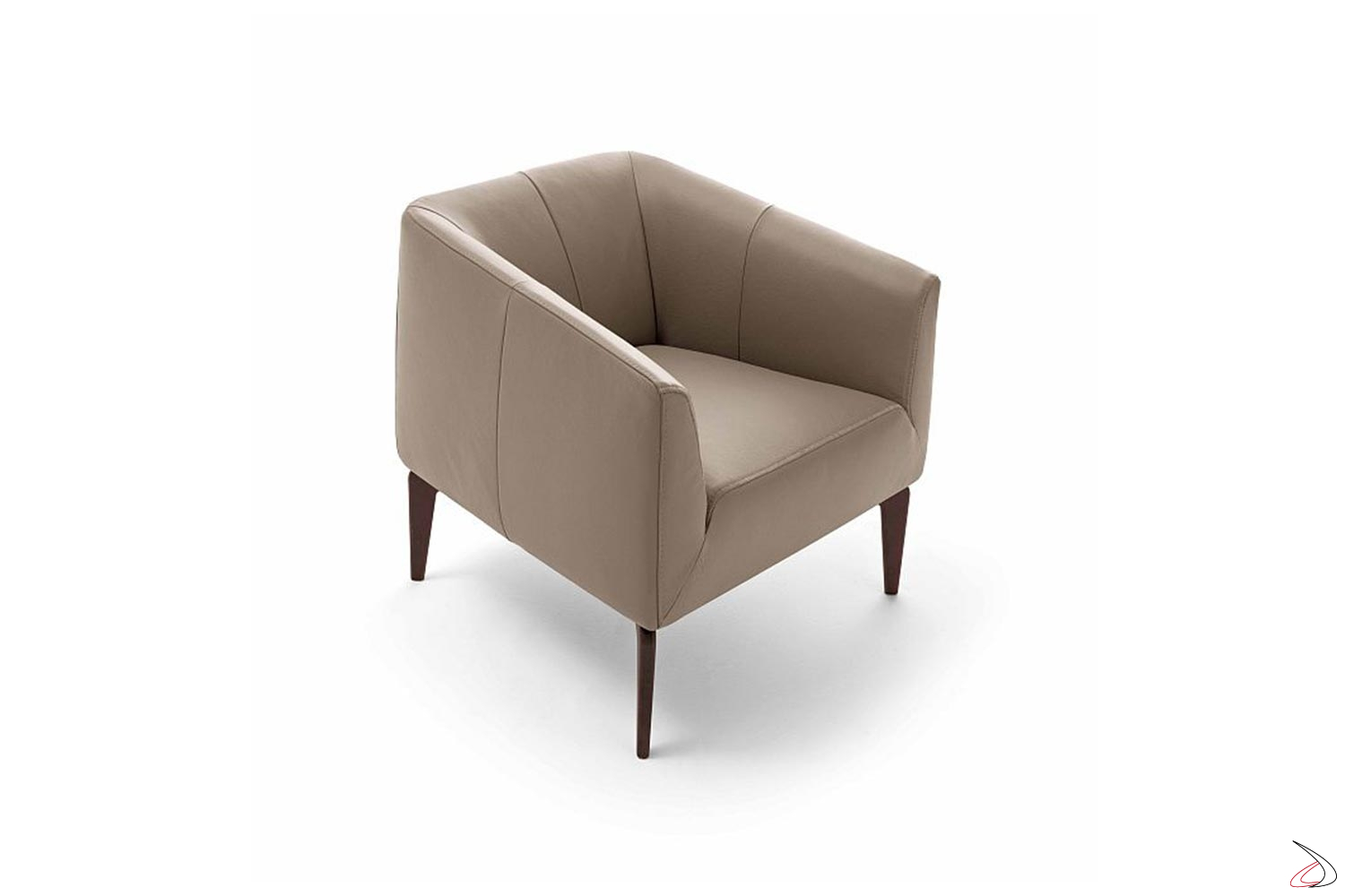 Poltroncina Per Camera Da Letto.Jest Armchair Minimal And Informal Comfortable And Versatile