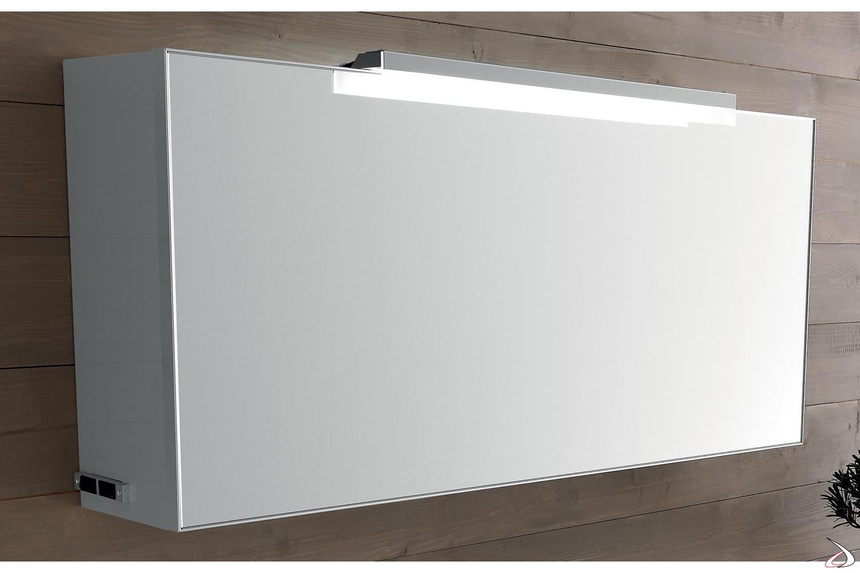 Specchio Bagno Contenitore.Specchio Moderno Contenitore Faboi Toparredi