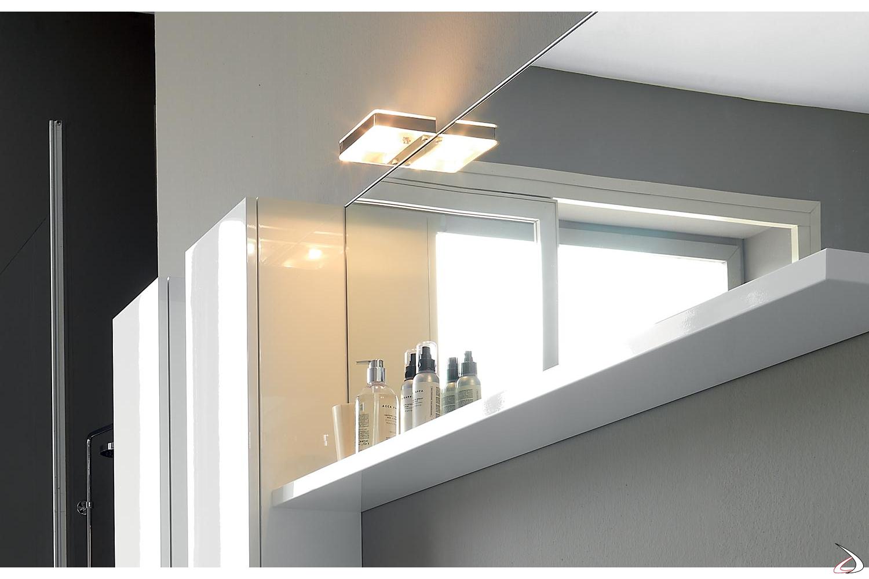 Mobile Sotto Mensola Bagno glam mirror