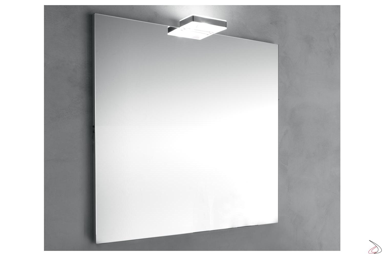 Specchio quadrato da bagno