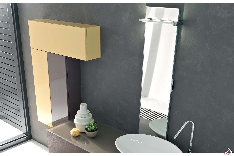 Specchiera moderna da bagno