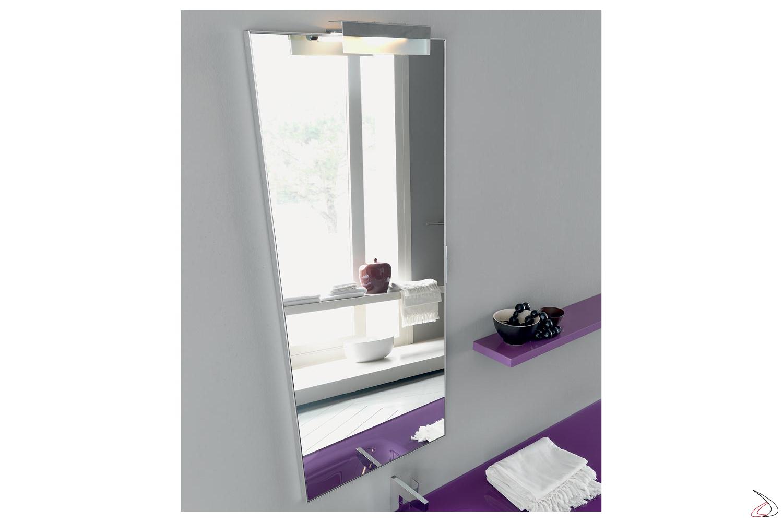 Specchiera da bagno verticale