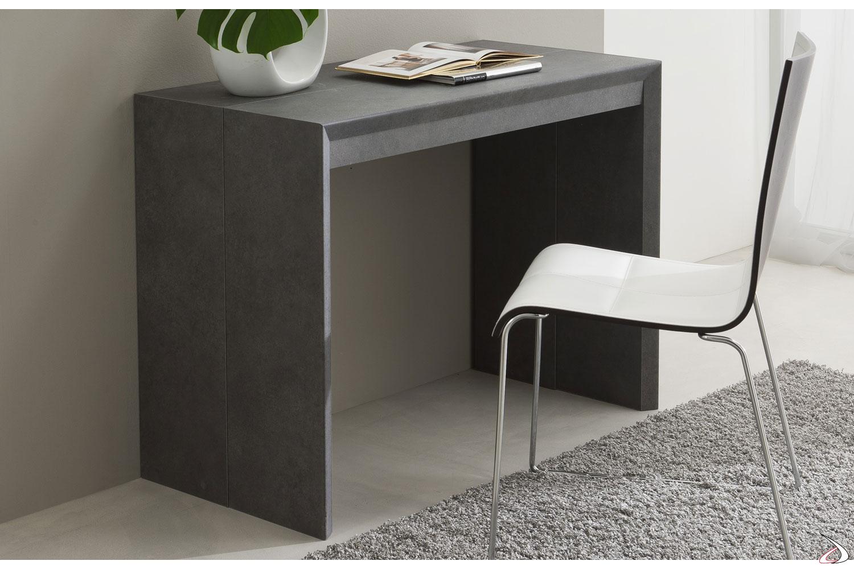 Consolle tavolo allungabile in legno