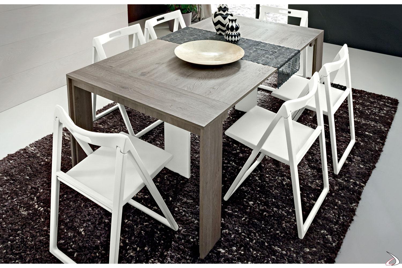 Tavolo consolle moderna allungabile