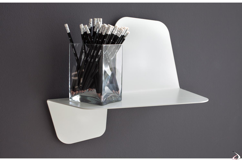 Mensole In Metallo Design.Flap Design Metal Wall Shelf Toparredi Arredo Design Online