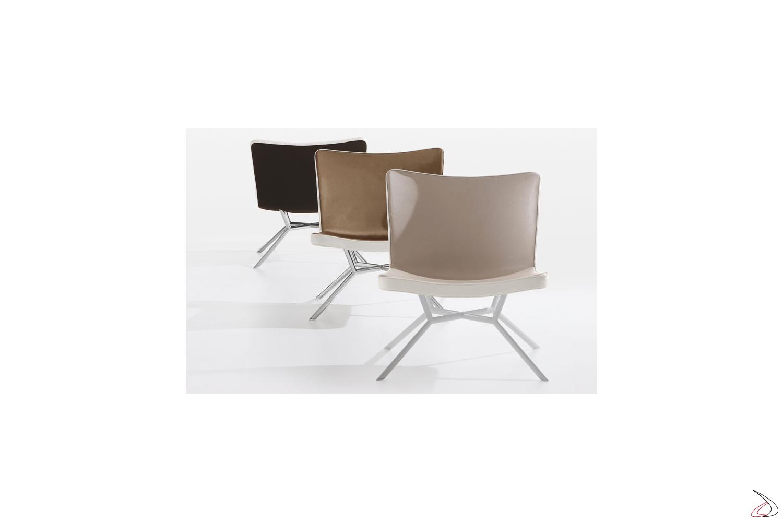 Poltrone Moderne In Pelle.Gustav Upholstered Design Lounge Chair Toparredi Arredo Design