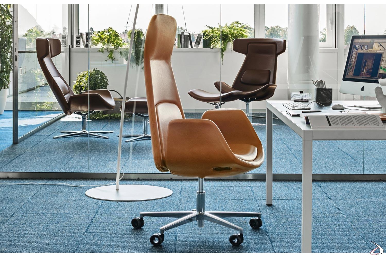 Poltrona Sweden Di Design Ergonomica Da Ufficio Toparredi