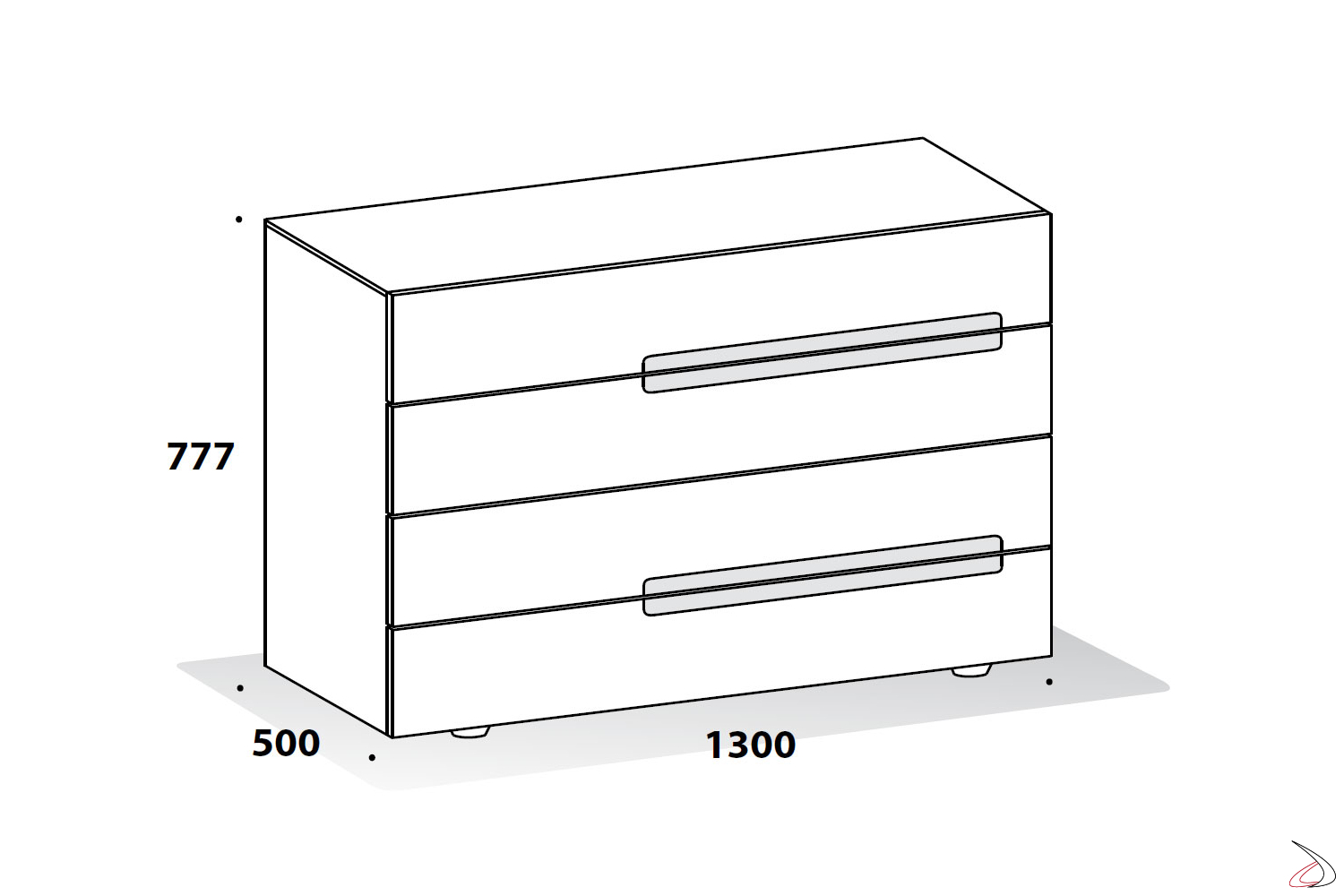 Modern dresser for the bedroom sizes