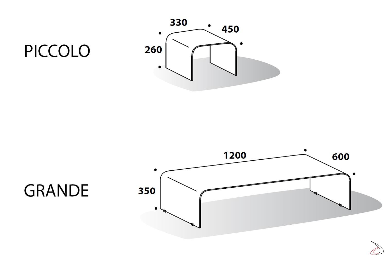 Dimensioni Standard Tavolo Cucina tavolino bruce