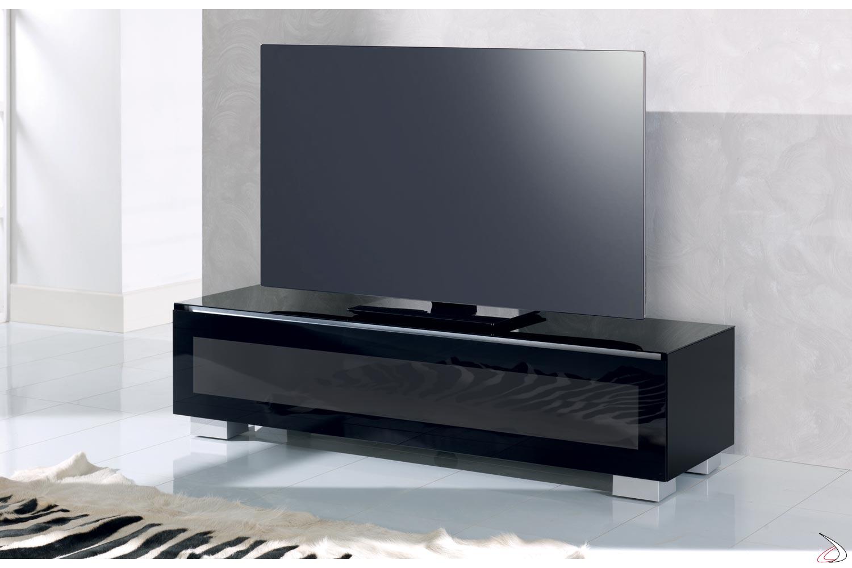 Mobili Porta Tv Ad Angolo Moderni.Porta Tv Con Anta A Ribalta Genova Toparredi Arredo Design Online