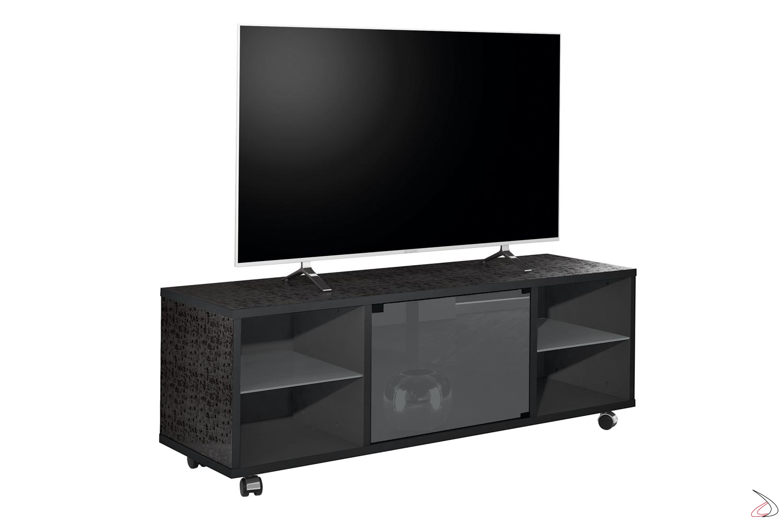 Porta Tv Lcd Vetro.Matera 150 Multimedia Tv Stand Toparredi Arredo Design Online