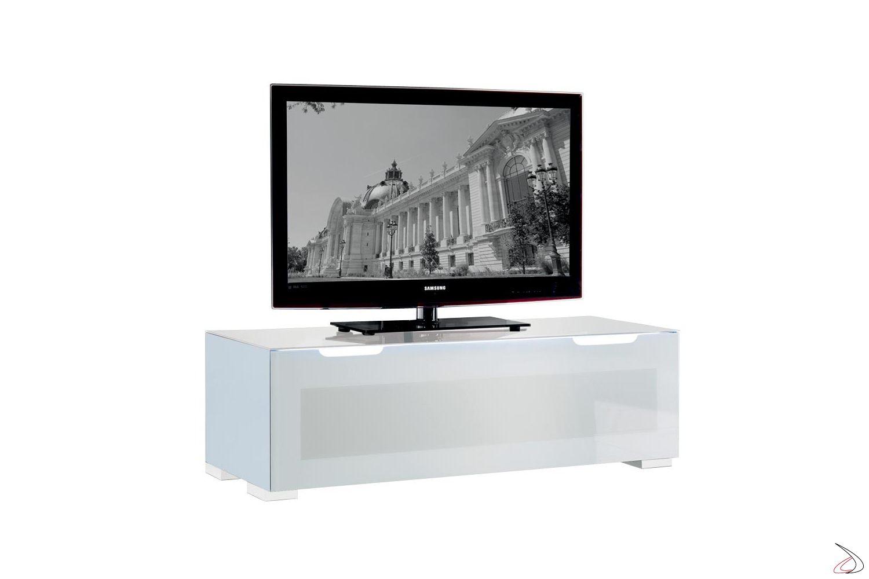 Porta tv con anta ribalta e luce Led