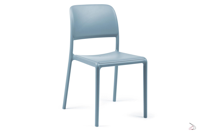 Sedie Da Esterno In Plastica.Riva Bistrot Outdoor Chair Toparredi Arredo Design Online