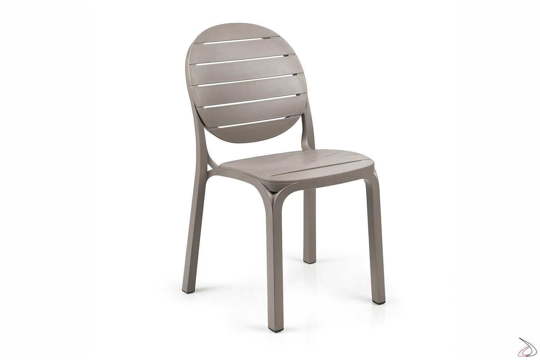 Sedie Per Il Giardino.Erica Modern Chair In Polypropylene Toparredi Arredo Design Online