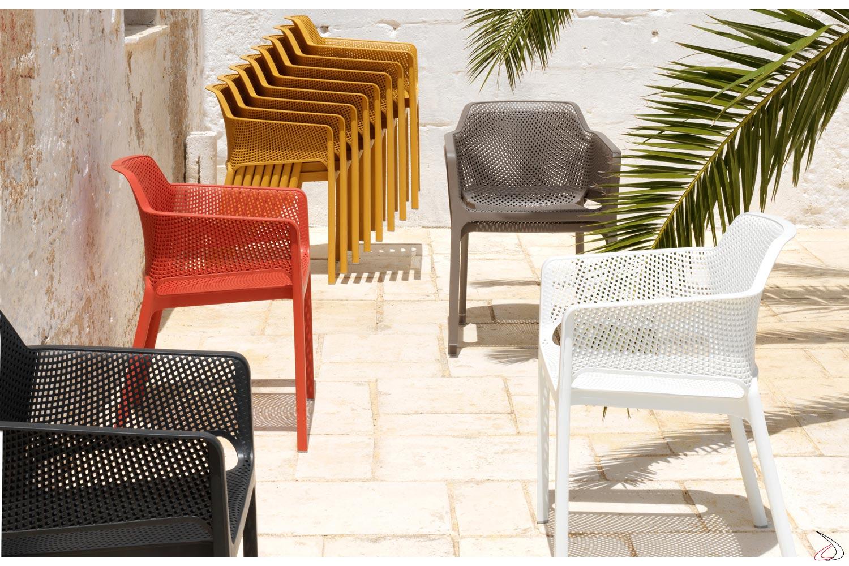 Sedie Colorate Da Giardino.Net Farbigen Gartenstuhl Toparredi Arredo Design Online