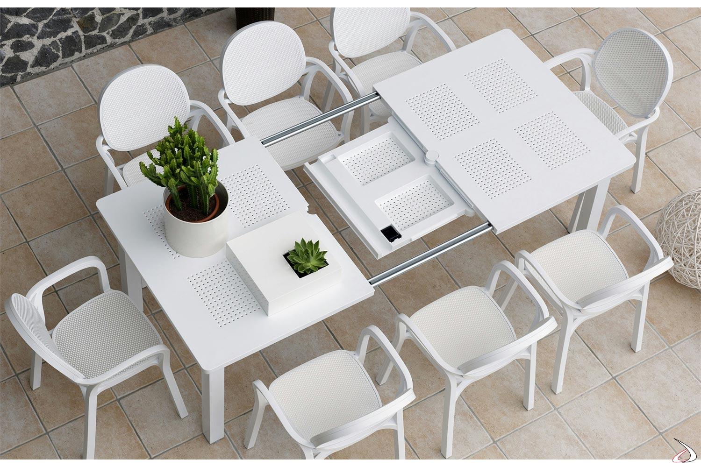 Tavolo In Alluminio Per Esterno.Levante Extendable Garden Table Toparredi Arredo Design Online