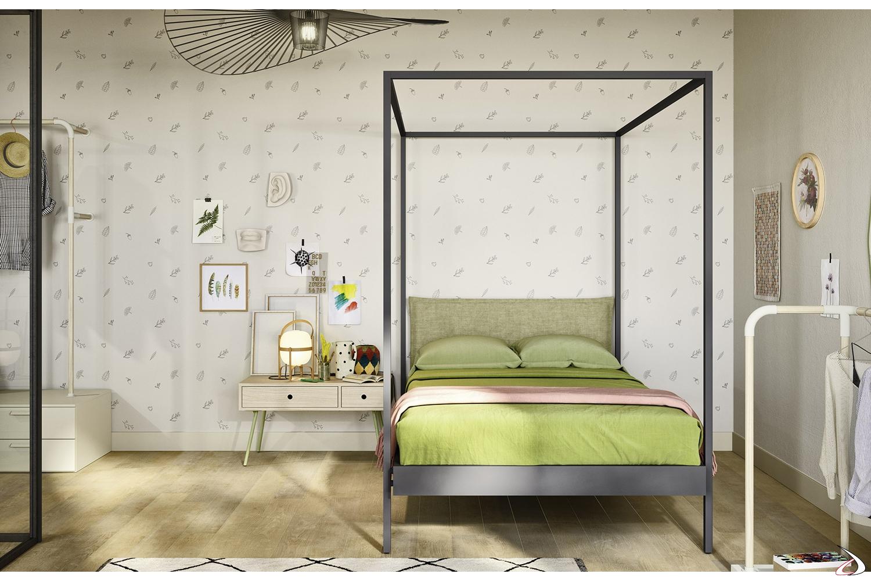 Letto A Baldacchino Moderno.Kap Modern Canopy Bed Toparredi Arredo Design Online