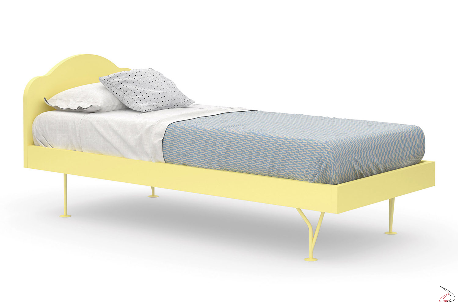 Chaise Longue Letto Singolo.Mino Wooden Single Bed For Children Toparredi Arredo Design Online