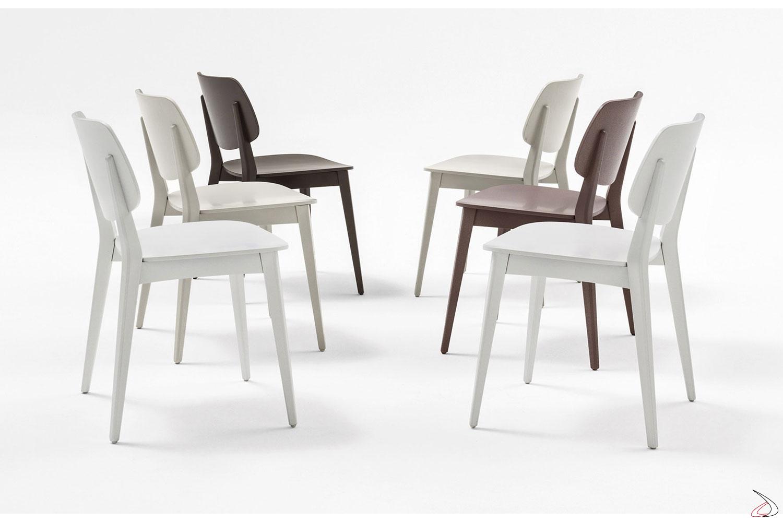 Sedie Moderne Cucina Colorate.Doll Chair
