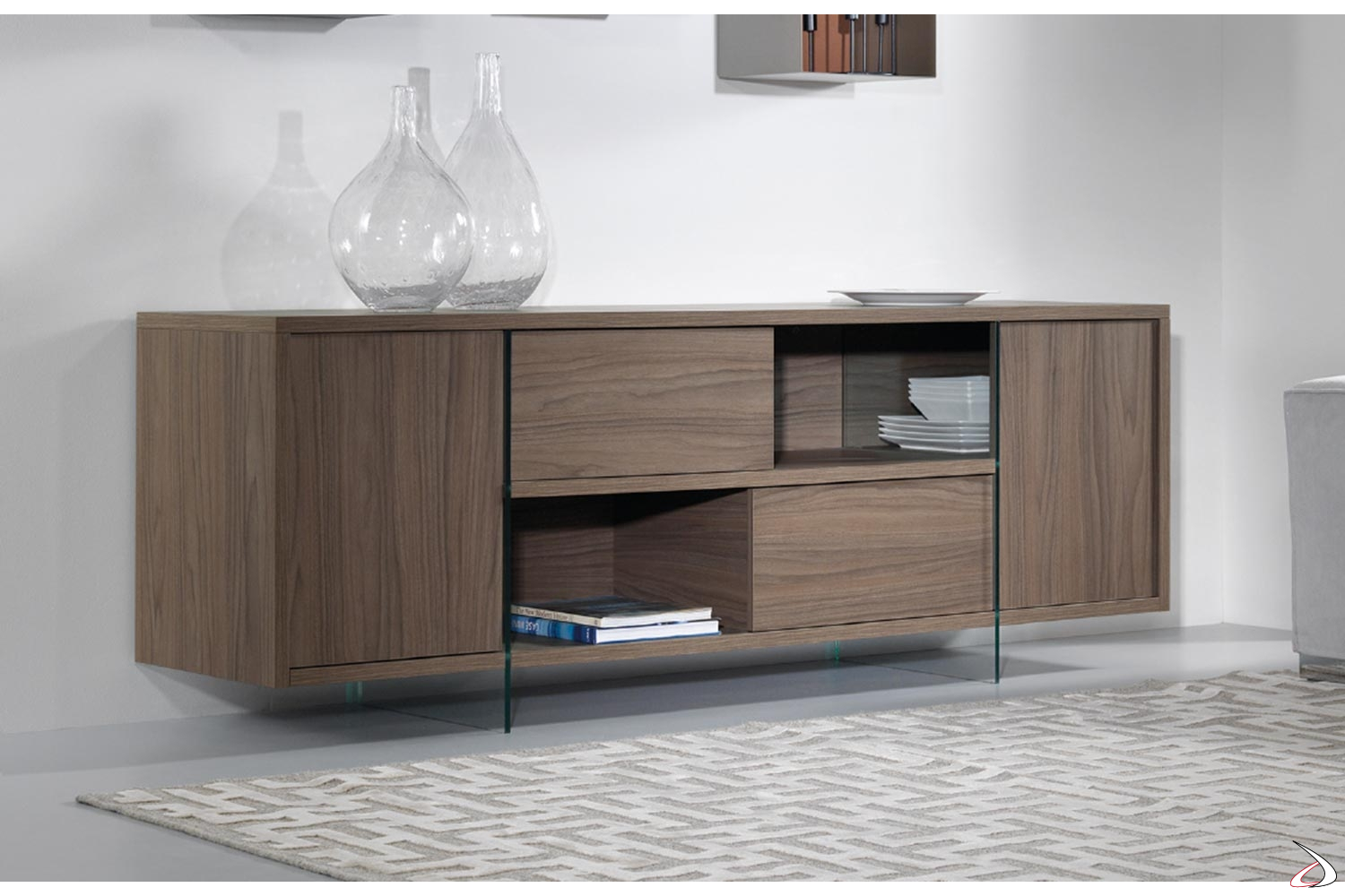 Madia Con Ante Scorrevoli.Madison Sideboard With Sliding Doors Toparredi Arredo Design
