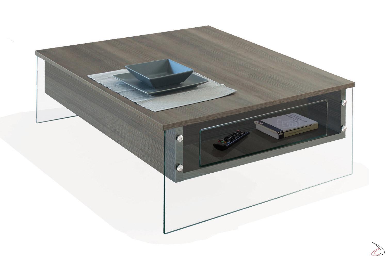 Tavolini Da Salotto Che Si Alzano.Tavolino Contenitore Da Caffe London Toparredi Arredo Design