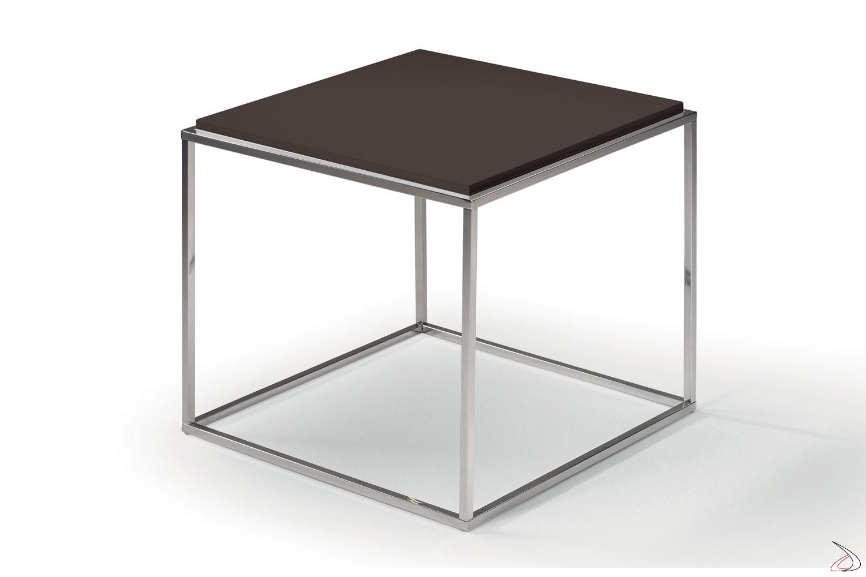 Tavolino moderno quadrato alto da caffè