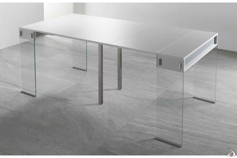 Consolle di design allungata da soggiorno