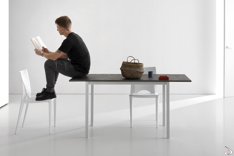 Tavolo economico moderno allungabile da cucina