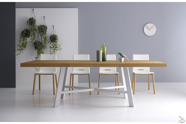 Tavolo Bianco In Legno tavolo thor