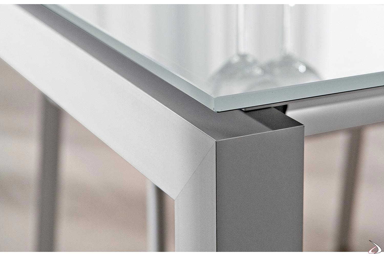 Gambe Per Tavoli In Alluminio.Tavolo Estendibile Per Soggiorno Papu Toparredi Arredo Design