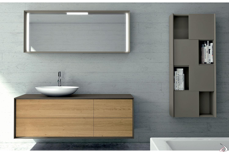 Armadietto Bagno Moderno hamal bath