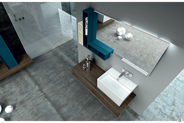 Mobile bagno moderno colorato