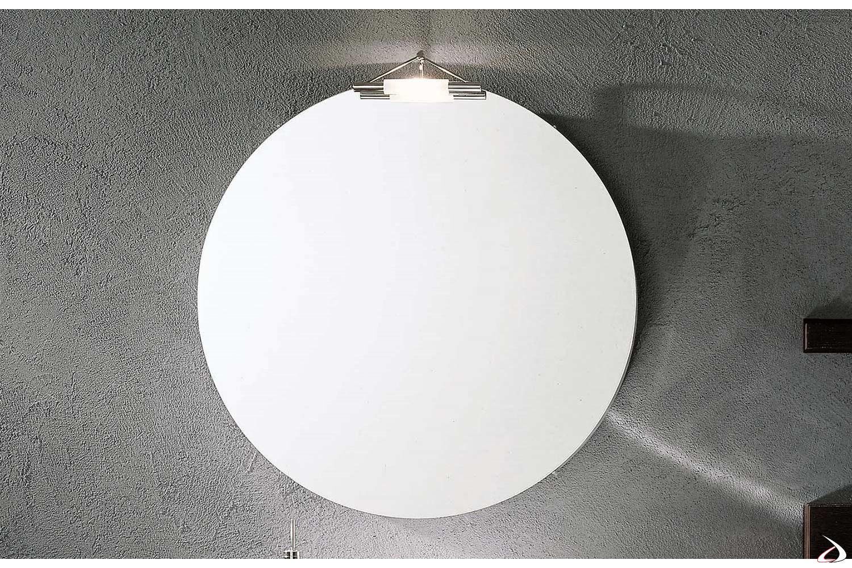 Specchiera bagno rotonda Sfera
