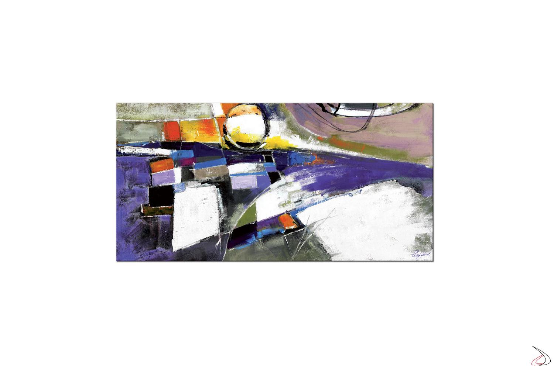 Quadro con immagine astratta, Arlecchino