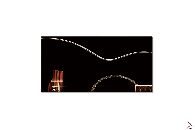 Quadro moderno stampato su tela o vetro, Guitar