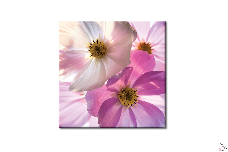 Quadro d'arredo con immagine floreale